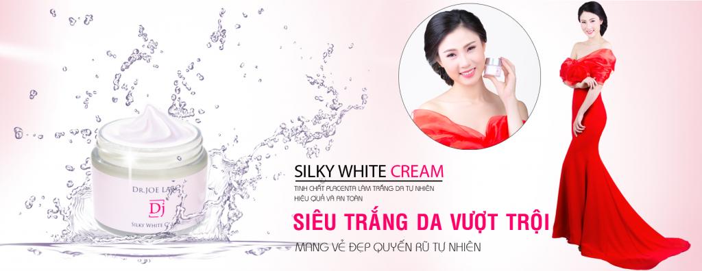 Kem dưỡng trắng da hiệu quả an toàn Silky White Cream