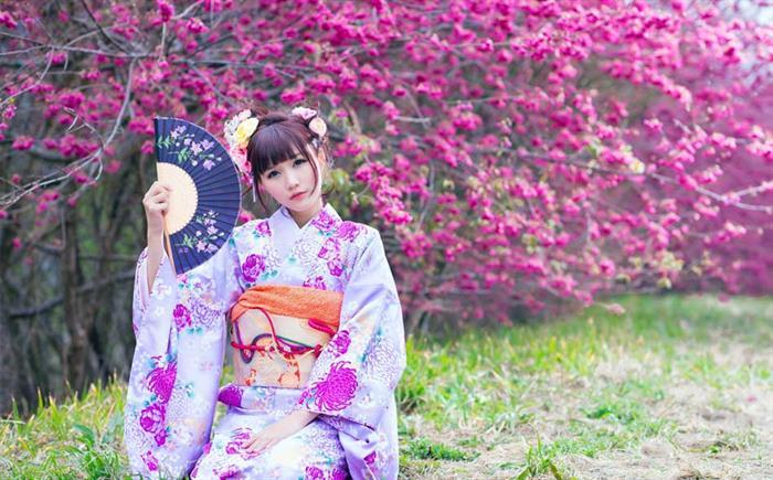 Vẻ đẹp phụ nữ Nhật Bản